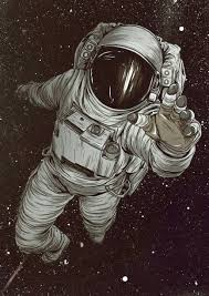 Astronaut art …