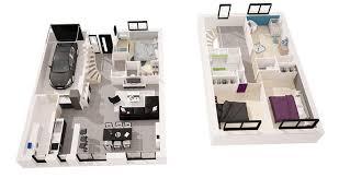 plan maison 4 chambres etage lovely plan de maison 4 chambres avec etage 7 et233sien 126 m178