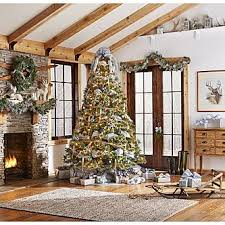 Jaclyn Smith Midnight Clear Complete Tree Decorating Kit