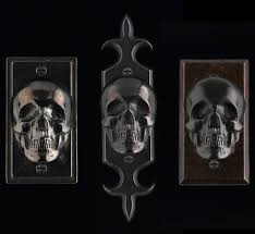 Cabinet Knob Backplate Black by Skull Von Bronze Backplate Hardware For Doors By Faucetto