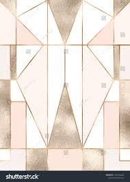 100 Art Deco Shape Deco Background With Gold Glitter Geometric Shapes Triangles