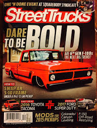 Check Out Our Audio Build That Was Featured At SEMA And In ... Magazine Coverage Mini Truckin At Truck Trend Network Street Trucks Home Facebook Ford 350 Striker Exposure News Covers No Limit Hellboy C10 Youtube Category Features Street Trucks Magazine 1967 Chevrolet Shortbed Show Chevy