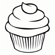 simple cupcake with swirling icing on top 908