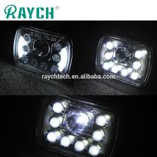 55w Square Led Car Headlight 5d High Low Beam Led Lights 5d 5x7 ... Truck Lights Led Interior Exterior Trucklite 35 Series Marker Clearance Light Lite Headlight Ece 27491c 4 Inch Round Emergency Tail And Trailer W Reflector Brake Off Road 1224 Volts Black Chrome Finish Forti Usa 12v 16 Leds Stop Turn For Led Auto Car Caravan Side 2leds Choosing The Right 4wheelonlinecom 2pcs License Plate Square Upgrade Your Trucks With Maxxima Lights View Collection Westin Bars Trucks By
