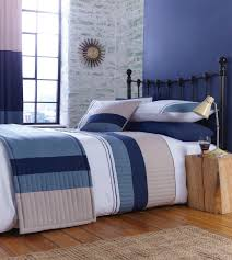 Navy And White Striped Curtains by Blue And White Striped Bedding Set Amazing Blue And White