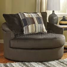 cheerful oversized swivel chair westen chocolate oversized swivel