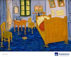 AXA Art Insurance Flooded Bedroom in Arles Gute Werbung