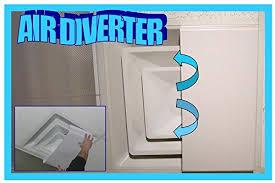 Ceiling Ac Vent Deflectors by Amazon Com Air Diverter 2 U0027x1 U0027 4873 Office Products Garden
