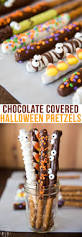 Halloween Decorated Pretzel Rods by Chocolate Covered Halloween Pretzels U2013 Like Mother Like Daughter
