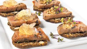 recette canapé apéro canapés à la mousse de canard recettes iga bouchées apéro
