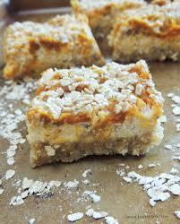 Pumpkin Swirl Cheesecake Bars by Fresh Pumpkin Cheesecake Bars With An Almond U0026 Coconut Flour Crust