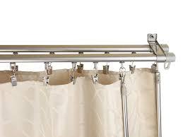 Rod Desyne Double Curtain Rod by Amazon Com Rod Desyne Baton Draw Adjustable Double Track For
