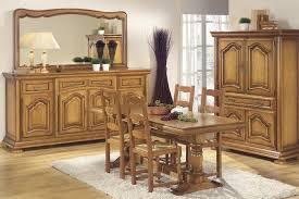 table de salle à manger rustique chêne clair hernani table à à