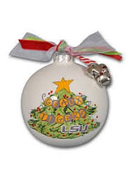 LSU Christmas Tree Ornament