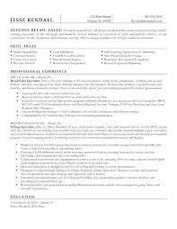 Sample Resume Retail Store Manager Resumes For Assistant Enchanting Examples Positions With Additional Cover Letter
