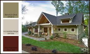 Photo Of Craftsman House Exterior Colors Ideas by Exterior Paint Color Ideas Acm Design Asheville Architecture