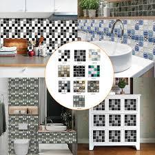 10pcs selbstklebend mosaik stein kachel aufkleber küche