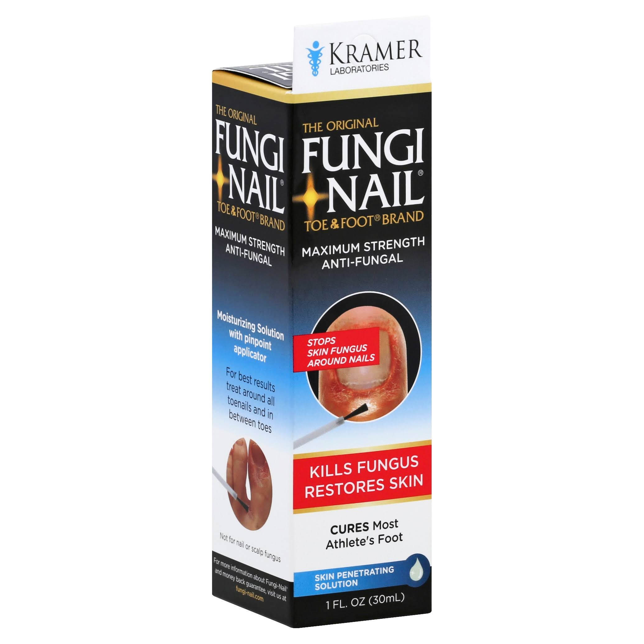 Fungi Nail Anti-Fungal, Maximum Strength, Skin Penetrating Lotion - 1 fl oz