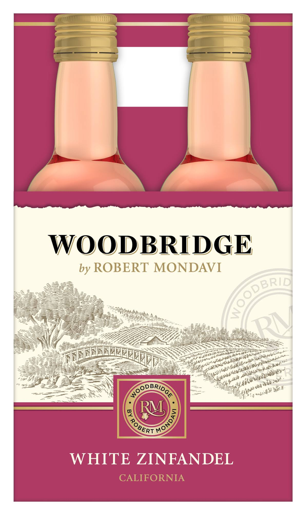 Woodbridge White Zinfandel - 4pk, 187ml