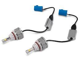 mustang headlight led conversion bulb kit 9007 94 04 all