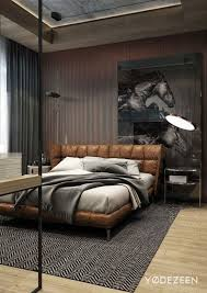 Sleepys Headboards And Footboards by 30 Masculine Bedroom Ideas Freshome Throughout Mens Bed Frames