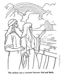 Noahs Ark Noah And His Good Godly Wife Love Bible Coloring PagesColoring