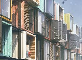 100 Cargo Container Buildings Striking Apartment Complex Is Made Of 48 Raw Shipping Containers
