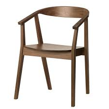 chaise accoudoir ikea chaise stockholm ikea placage chene accoudoir et noyer plus parfait