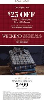 Jos. A. Bank Coupons - $25 Off Everry $125 At Jos. A. Jos A Bank Coupons 25 Off Everry 125 At Posts Facebook Banks Clearance Sale Is Offering Huge Discounts On Mens Suits Up To 90 Off Apparel Accsories Free Express Dress Pants Raveitsafe 30 Student Discntcoupons Reserve Collection Tailored Striped Suit Revealed Its Worst Nightmare Business Insider Over 55 Canada Currency Exchange Rates