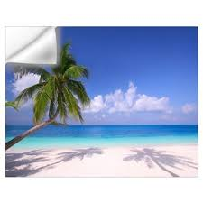 Wall Mural Decals Beach by Beach Wall Decals Beach Wall Stickers U0026 Wall Peels