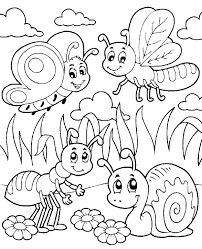 Meadow Life Coloring Page
