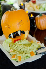 Puking Pumpkin Carving Ideas by Megan U0026 Marshall U0027s Intimate Gothic And Spooky Wedding Offbeat