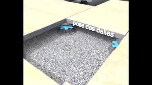 découvrir la pose de dalles sur plots pour votre terrasse