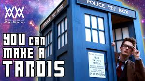 how to build a tardis limited tools needed free plans youtube