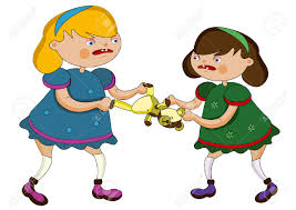 Stealing Toys Clipart