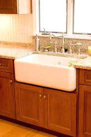 Farmhouse Style Sink by Kitchen Cabinet For Sink U2013 Meetly Co