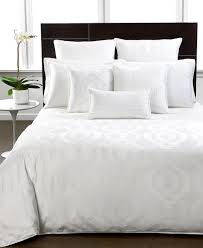 Kenneth Cole Reaction Bedding by Hotel Collection Bedding Modern Hexagon White Collection