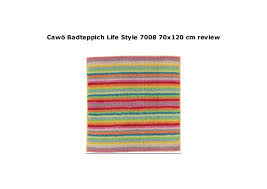 caw badteppich style 7008 70x120 cm review
