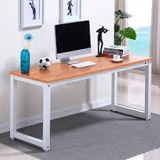 Desks Office Furniture Walmartcom by Ktaxon Wood Computer Desk Pc Laptop Table Workstation Study Home