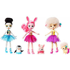 Buy Enchantimals Ballet Cuties Doll 3pack Only £1799 Toys