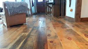 Wide Wood Plank Flooring Inch Carriage House White Pine With Soft Scrape Edge