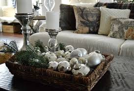 Amazing Christmas Coffee Table Decorations 90 In Home Decorating Throughout Which Rustic