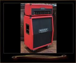 Mesa Boogie Cabinet 2x12 by Mesa Boogie Tc 50 Head And Vertical Rectifier 2x12 Cabinet Red