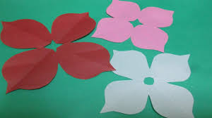 How To Make Simple Easy Paper Cutting Flower Designs 2