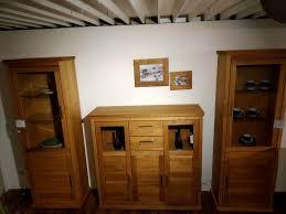 wohn esszimmer schränke highboard vitrinen wildeiche teilmassiv