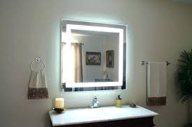 wall mounted lighted makeup mirror 10x led lighted magnification