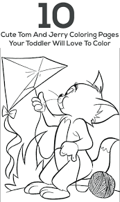 Coloring Pages Print Book Tom Jerry Printable And Games Download Pdf Full Size