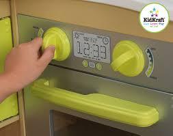 Kidkraft Grand Gourmet Corner Kitchen Play Set by Amazon Com New Limited Edition Kidkraft Wooden Lime Green Corner