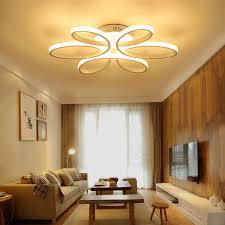 deckenleuchten führte moderne schlafzimmer beleuchtung acryl lenschirm wohnzimmer deckenleuchte luces techo armaturen leuchte licht