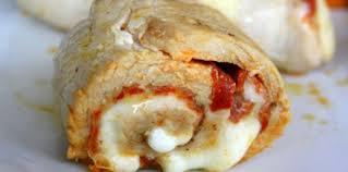 escalope de dinde roulée au chorizo et mozzarella facile et pas